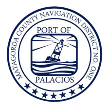 Port of Palacios Logo